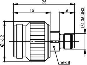 Междусерийный ВЧ адаптер J01019A0032