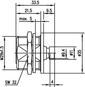 Разъем для гибких кабелей J01121A0145