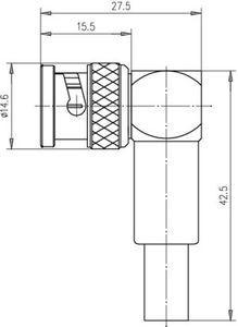 Разъем для гибких кабелей J01002A1266