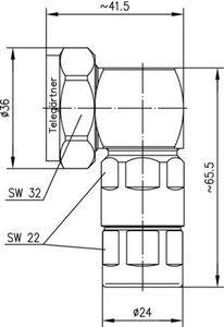 Разъем для фидерных кабелей J01120B0026