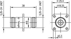 Внутрисерийный ВЧ адаптер J01024A0005