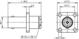 Разъем для гибких кабелей J01003A0012