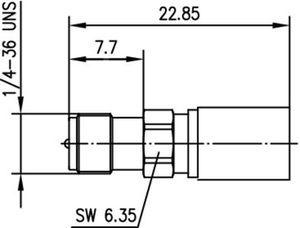 Разъем для гибких кабелей J01151R0051