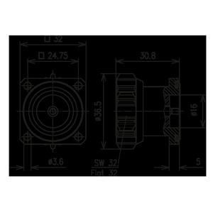 Разъем панельный BN 954765