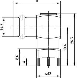 Разъем для печатных плат J01003A1949