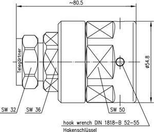 Разъем для фидерных кабелей J01120G0087