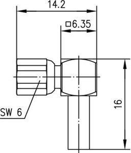 Разъем для гибких кабелей J01171A0191