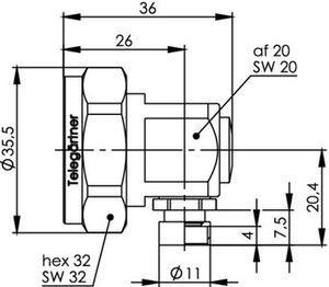 Разъем для фидерных кабелей J01120C0080