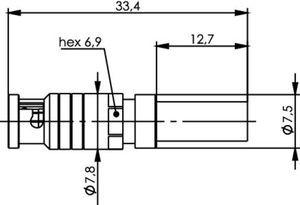 Разъем для гибких кабелей J01290A0064