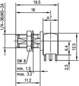 Разъем для печатных плат J01151A0821