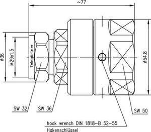 Разъем для фидерных кабелей J01120H0087
