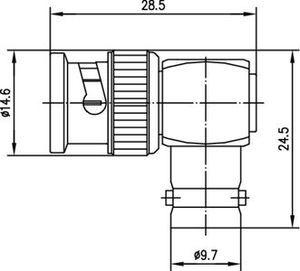 Внутрисерийный ВЧ адаптер J01005A1237