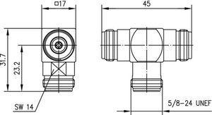 Внутрисерийный ВЧ адаптер J01024J1098