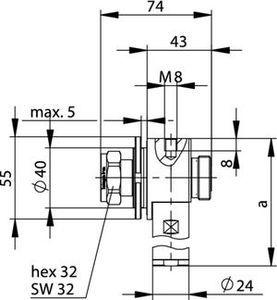 Грозоразрядник с четвертьволновым отрезком J01125B0006