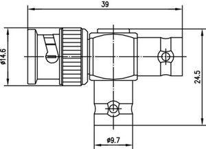 Внутрисерийный ВЧ адаптер J01004A0616