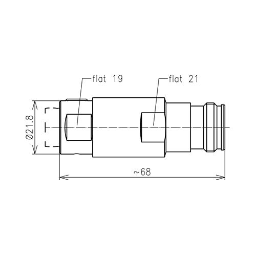 Разъем для фидерных кабелей BN 431068