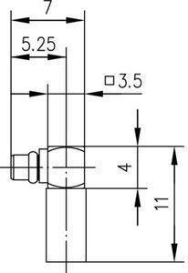 Разъем для гибких кабелей J01340A0111