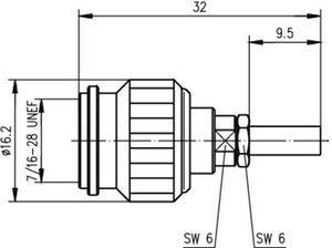 Разъем для гибких кабелей J01010B0027