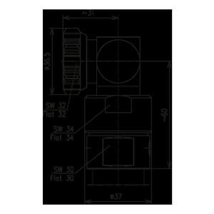 Разъем для фидерных кабелей BN 844850