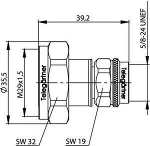 Междусерийный ВЧ адаптер J01122C0009