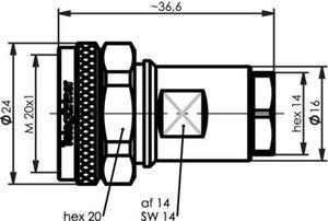 Разъем для гибких кабелей J01440A3012