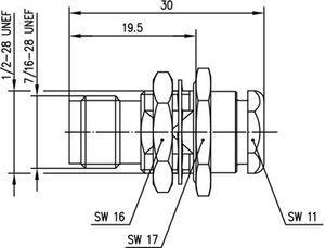 Разъем для гибких кабелей J01011A0045