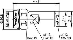 Разъем панельный J01020A0173