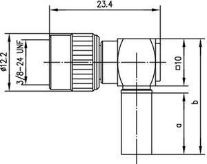 Разъем для гибких кабелей J01045A0002