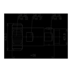 Разъем для фидерных кабелей BN 847368