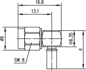 Разъем для гибких кабелей J01150A0061
