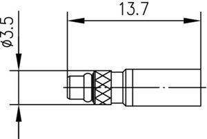 Разъем для гибких кабелей J01340A0151