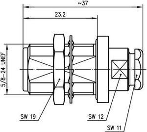 Разъем для полужёстких кабелей J01021H0087