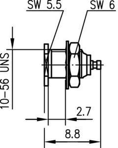Разъем панельный J01271A0101