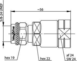 Разъем для гибких кабелей J01020C0122