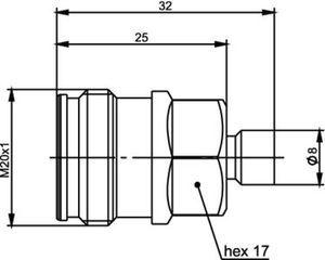 Разъем для полужёстких кабелей J01441A0004