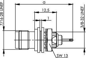 Разъем для гибких кабелей J01012A0014