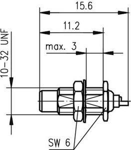 Разъем панельный J01170A0011