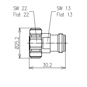 Междусерийный ВЧ адаптер BN 955250