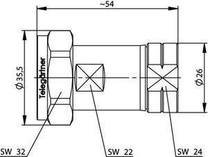 Разъем для фидерных кабелей J01120B0073