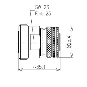 Междусерийный ВЧ адаптер BN 432016