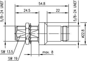 Грозоразрядник с газовой капсулой J01028A0048