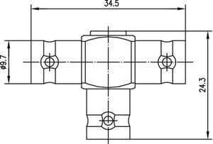 Внутрисерийный ВЧ адаптер J01004B0616