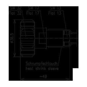 Разъем для фидерных кабелей BN 741445