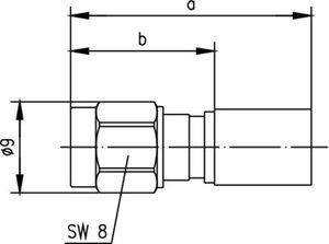 Разъем для гибких кабелей J01150A0708