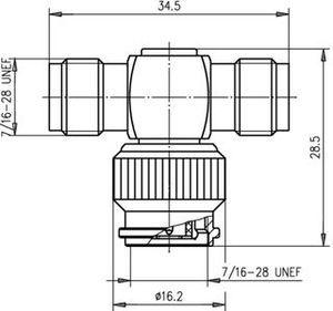 Внутрисерийный ВЧ адаптер J01014A0000