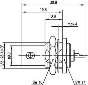 Разъем панельный J01001A1225