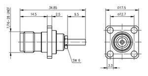 Разъем для гибких кабелей J01011A2336