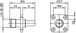 Разъем для гибких кабелей J01151A1011