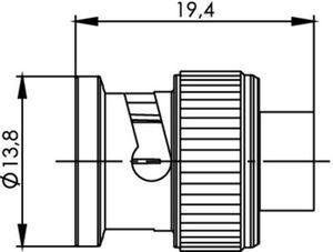 Разъем для полужёстких кабелей J01000A0067