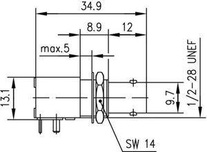 Разъем для печатных плат J01001A0103